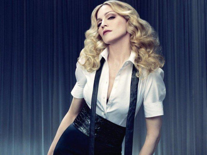 Американская певица Мадонна
