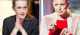 Анастасия Волочкова и Ксения Собчак не могут поделить бывшего бойфренда