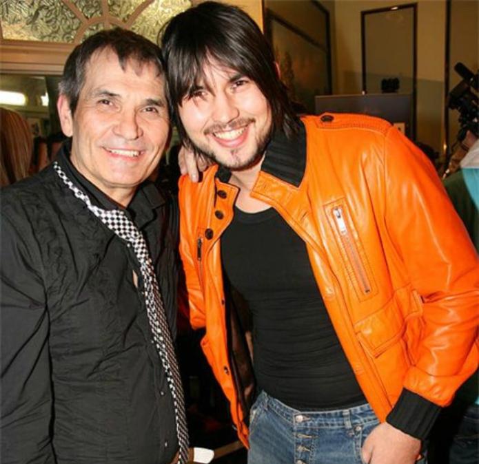 Бари Алибасов со своим сыном