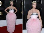 Розовое платье Кэти Перри