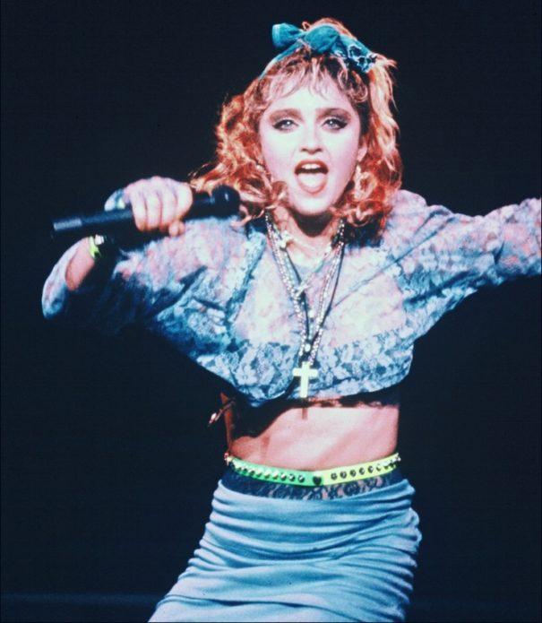 Безвкусные наряды Мадонны