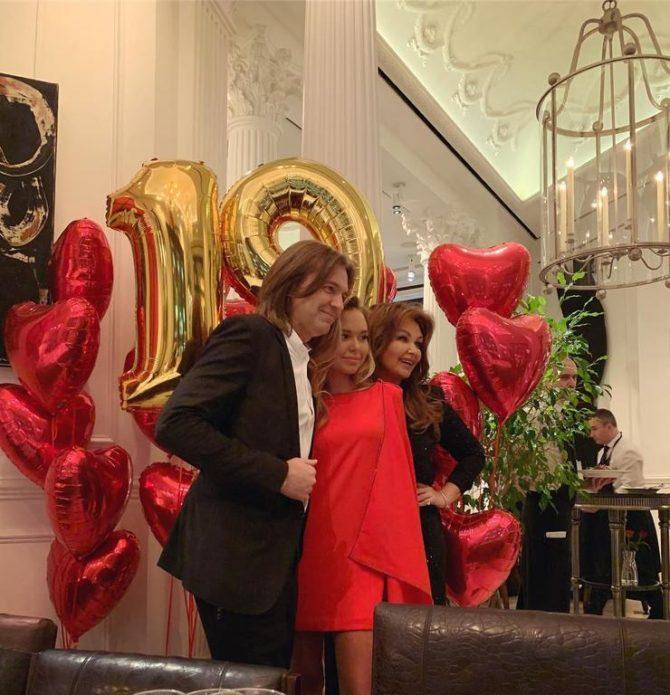 Стеша Маликова отметила день рождения с семьей