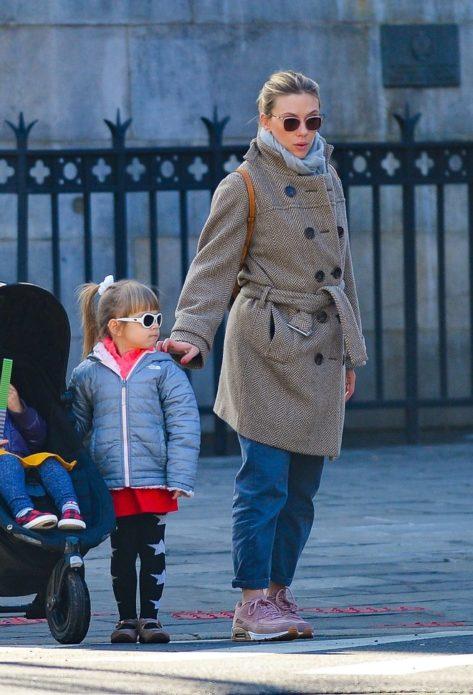 Скарлетт Йоханссон с дочерью