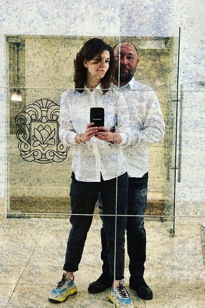 Бекмамбетов и Наталия Фишман