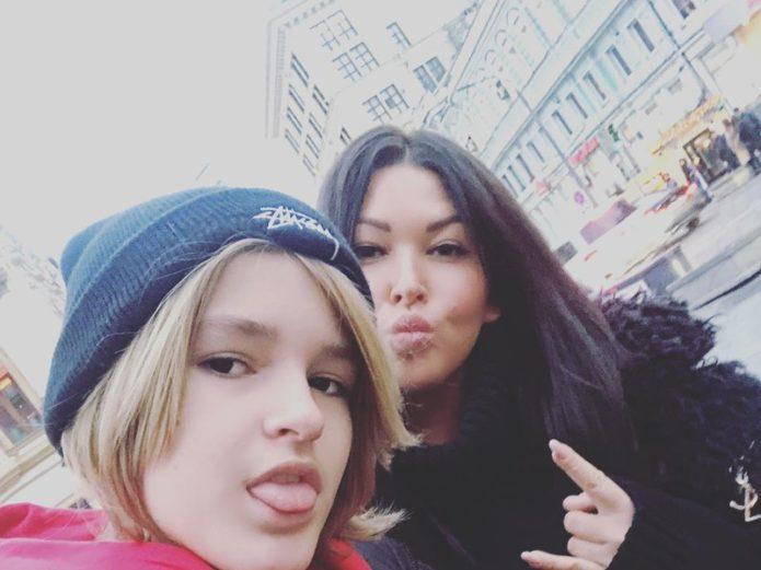 Дубцова с сыном