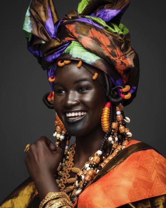 Худия Диоп в этническом образе
