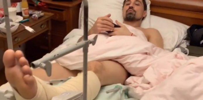 Билан перенес операцию на сломанной ноге