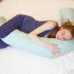 V — подушка