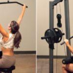 Упражнение Вертикальная тяга