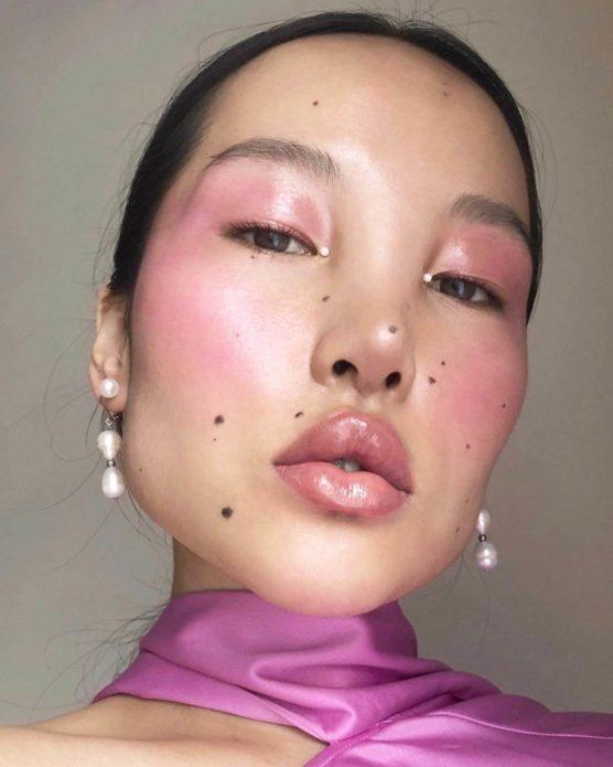 Цунайна, макияж