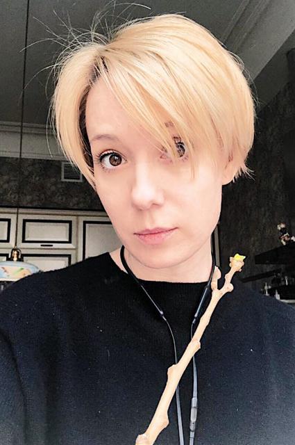Хаматова стала блондинкой