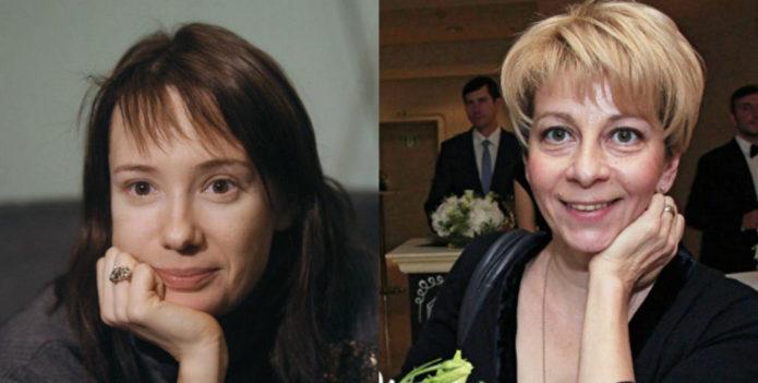 Чулпан Хаматова и Елизавета Глинка