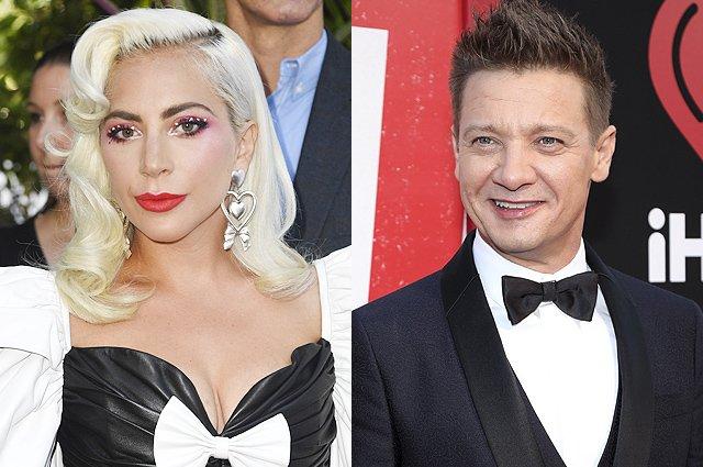 Джереми Реннер и Леди Гага