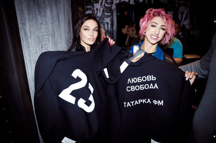 Водонаева на открытии бара Седоковой