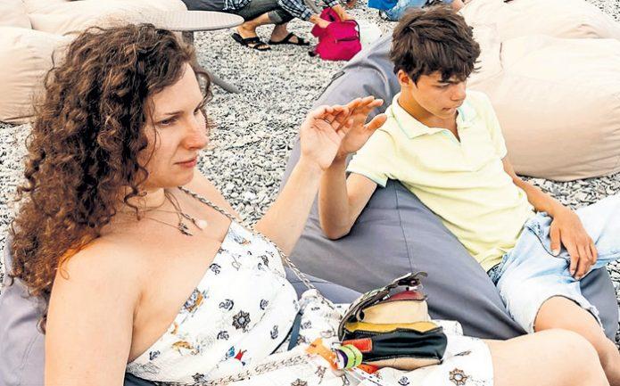 Анастасия Мартцинсковская с сыном