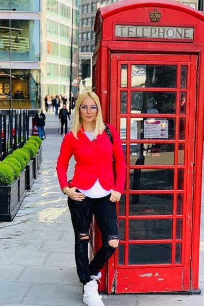 Леру Кудрявцеву обворовали в Лондоне