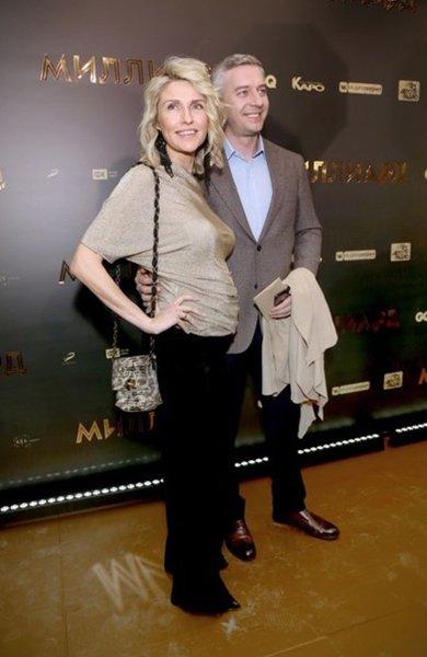 Архарова с мужем