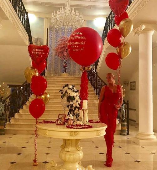 Волочкова день рождения жениха