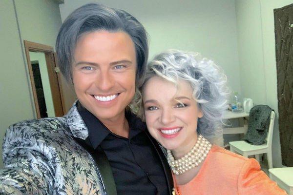 Прохор и Виталина изменили цвет волос