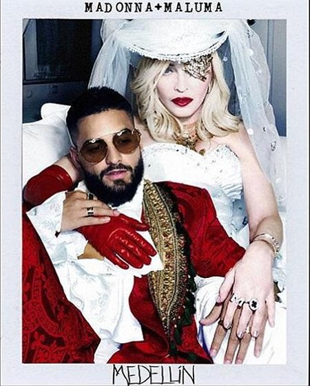 Мадонна и Малума