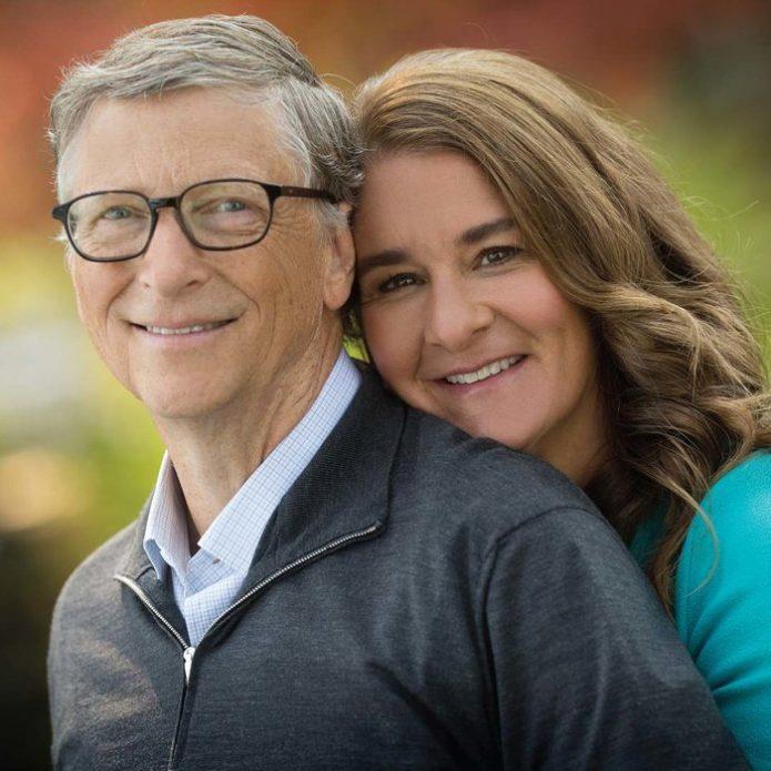 Билл Гейтс с супругой