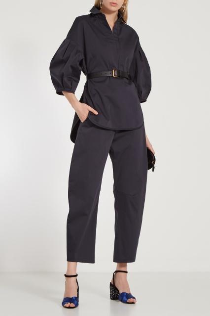 Лук с брюками в японском стиле Belka