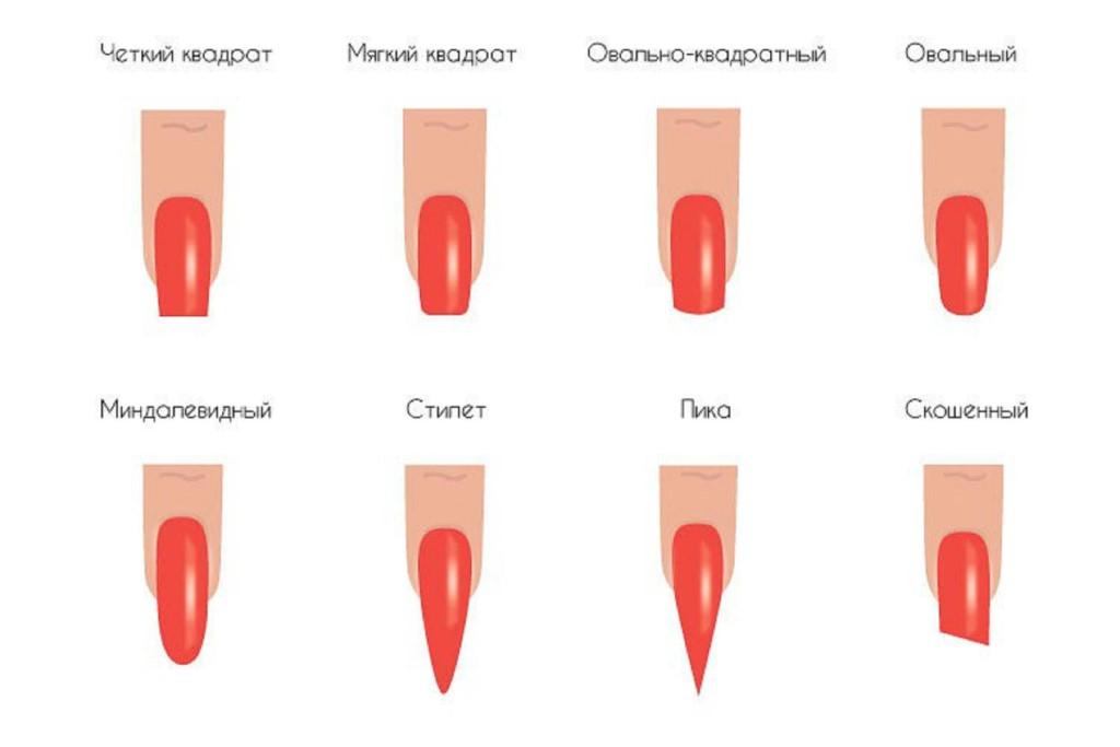 Ногти на форме картинки