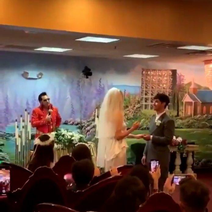 Свадебная церемония Софи и Джо