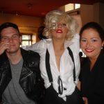 Леди Гага с друзьями