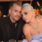 Леди Гага и Кристиан Картно на вечере