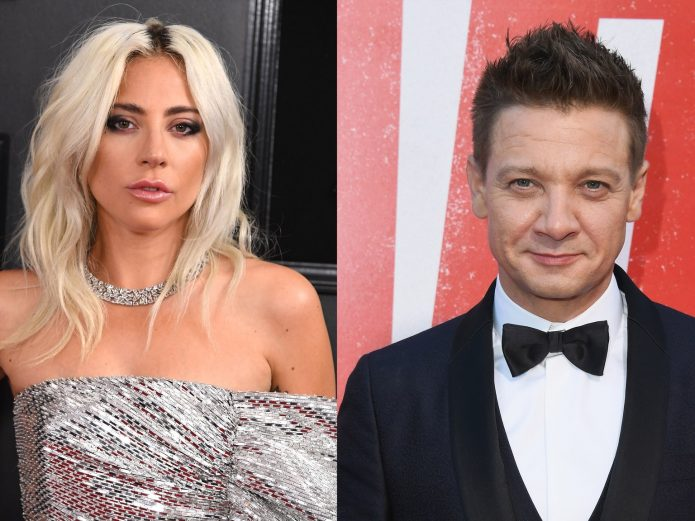 Леди Гага и Джереми Ренер
