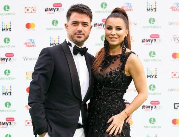 Ани Лорак с мужем