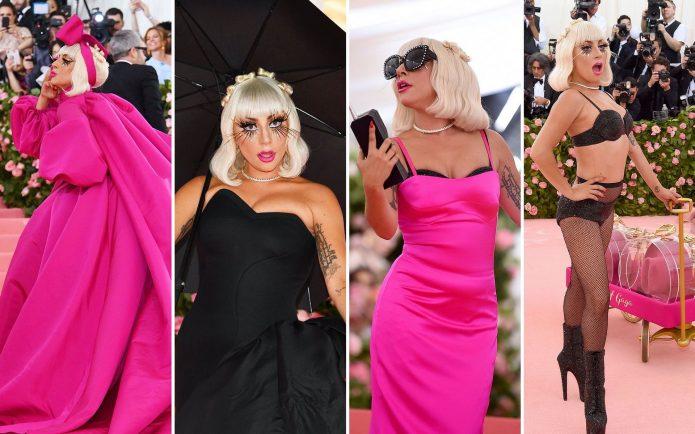 Леди Гага Мет Гала 2019