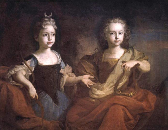 Пётр Алексеевич с сестрой