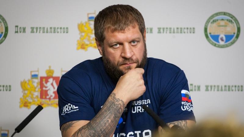 Полиция задержала Александра Емельяненко