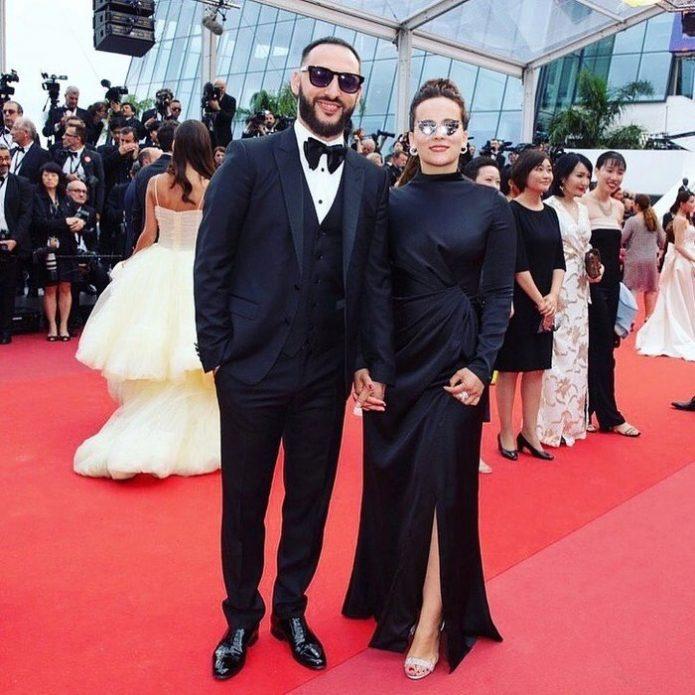 L'One с женой Канны-2019