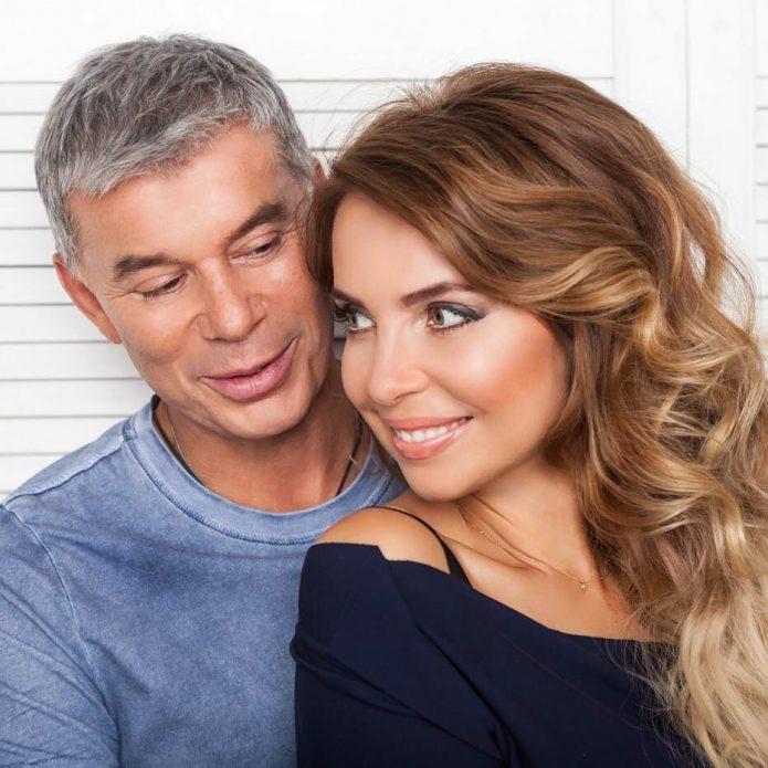 Газманов с женой