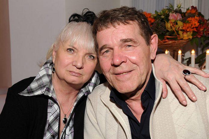 Булдаков с женой