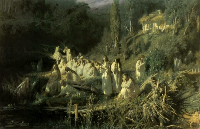 Картина Майская ночь