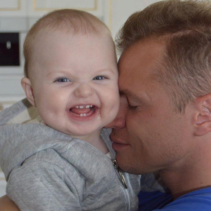 Тарасов с дочерью Миланой