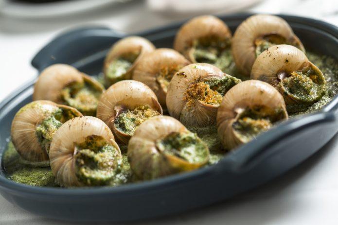 Экскарго, блюдо из улиток