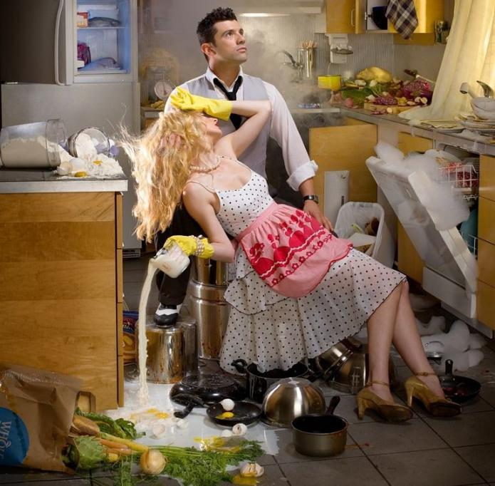 Беспорядок на кухне