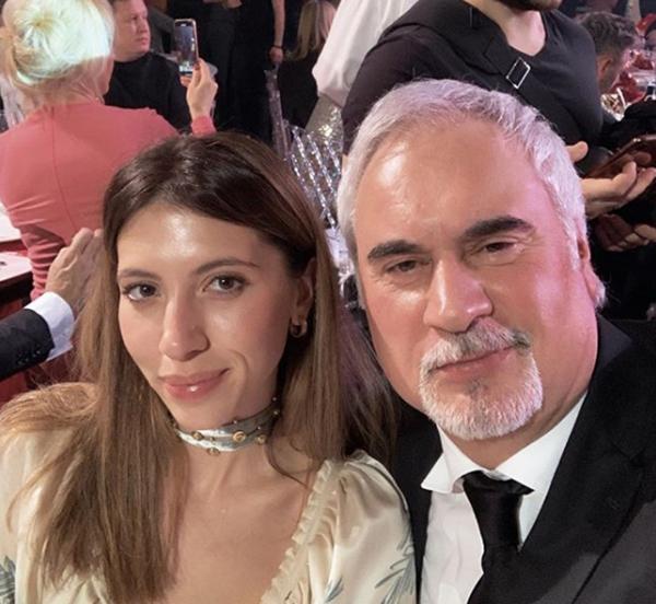 Инга Меладзе с отцом