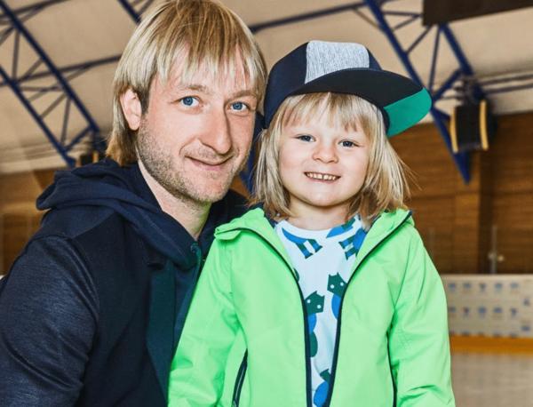 Сын с Плющенко