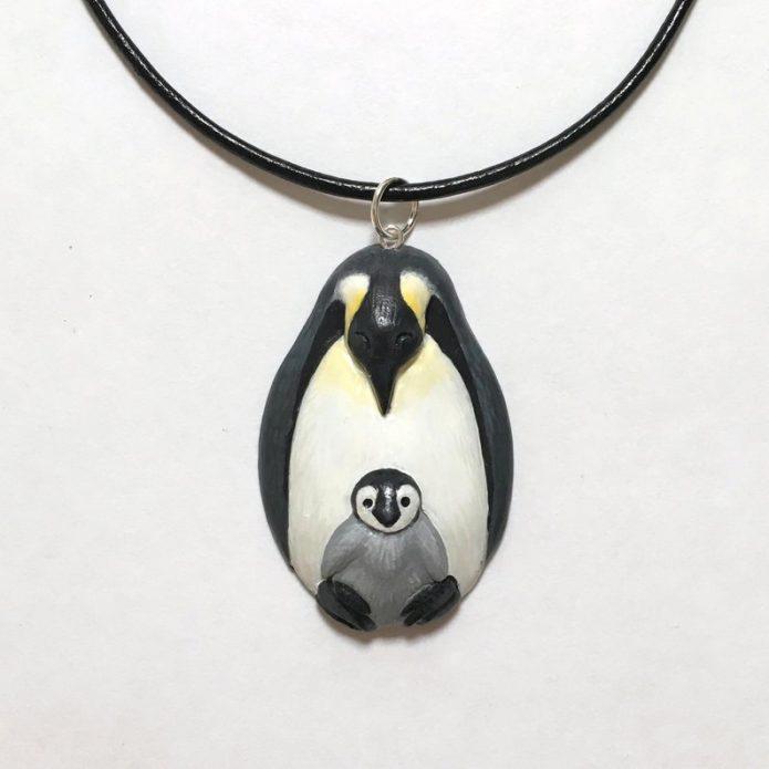 Пингвин подвеска