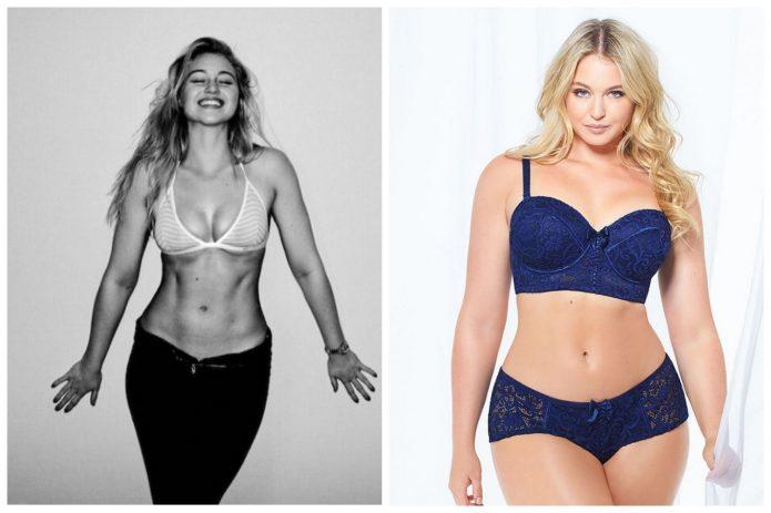 Искра Лоуренс фото до и после набора веса