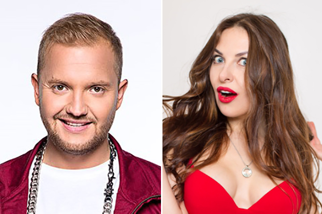 Александр Алымов и Наталья Краснова