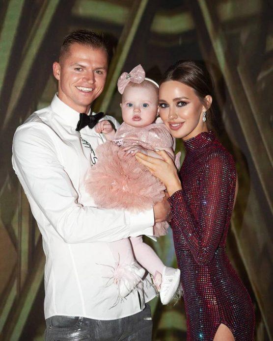 Тарасов и Костенко с дочерью