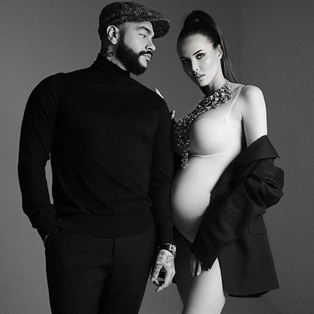 Фотосессия беременной Анастасии Решетовой