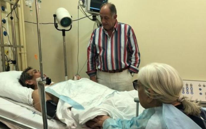 Бари Алибасов госпитализирован
